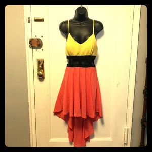 Dresses & Skirts - NWT Stunning Multicolored High-Low Dress